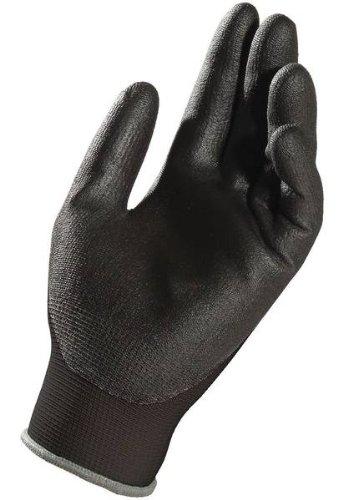 MAPA Ultrane 546 Nitrile Palm Coated Glove, Work, 9-1/4'' Length, Size 9, Black (1 Case) by MAPA Professional (Image #1)
