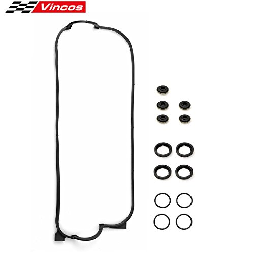 Honda Accord Valve Cover - Engine Valve Cover Gasket Set For 90-98 HONDA ACCORD DX LX 2.2L F22A1 VS50365R VCHO012