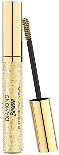 Golden Rose Diamond Breeze Glitter Top Coat Mascara - 24k Gold