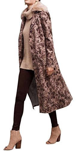 Anthropologie Chevril Collared Duster Coat By Elevenses Sz 4  8   Nwt 4