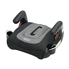 The Take Along backless belt-positioning booster seat folds 50% smaller via the Fast Action fold and is made for big kids 40-100 lbs. With cup holders that swivel in to save space when not in use and a carry bag for easy portability, the Take...
