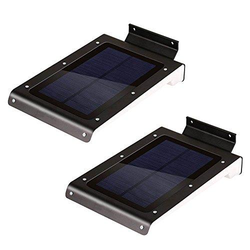 iRSE Solar Light 46 LED Security Motion Sensor Lights Wal...