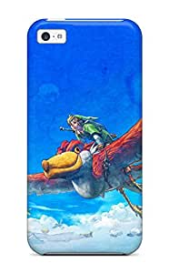 New Cute Funny Soaring Through Clouds Case Cover Iphone 5c Case Cover