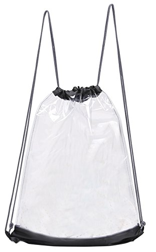 Preferred Nation Clear Drawstring Backpack, (Clear Drawstring Backpack)