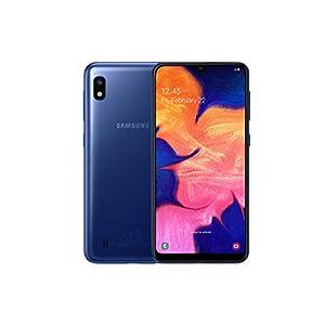 Samsung Galaxy A10 Dual-SIM 32GB 6.2-Inch HD+ 13MP Camera Android 9 Pie UK Version Smartphone – Blue
