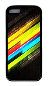 MMZ DIY PHONE CASEFashion Style With Digital Art- Colorful Anti-Skid Soft TPU Back Shell Case for iphone 6 plus 5.5 inch (Black 5) -52928