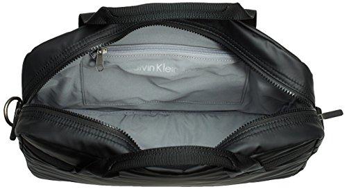Calvin Klein Jeans METRO LAPTOP BAG - Bolso de mano de piel sintética hombre negro - Schwarz (BLACK 990)