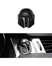 AOSK Mando Universal Car Engine Start Stop Button Cover Anti-Scratch Push Start Button Protective Cover 3D Cool Car Interior Accessories