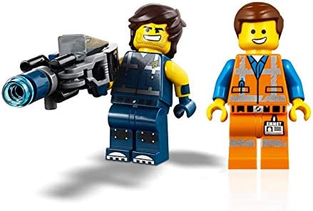 LEGO The Movie 2 Minifigure Combo - Emmet and Rex Dangervest (with Blaster)