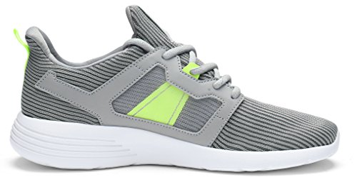 Size PYPE Training Lightweight Grey US Shoes Up Women's 8 Mesh Lace 5q07nHOWq