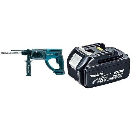 Makita DHR202Z BL1840 bater/ía 18V 4Ah Li-ion Martillo Ligero A Bateria 18V Sds-Plus Litio-Ion 20 Mm Solo Maquina Sin Cargador Ni Bateria