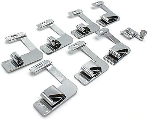 Prensatelas para máquina de coser Brother, 7 piezas, kit de pies ...