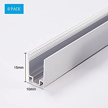 Amazon 1m33ft aluminum channel track for led mini dia 1m33ft aluminum channel track for led mini dia 8mm neon rope light mozeypictures Choice Image