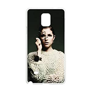 D-PAFD Customized Print Anna Kendrick Hard Skin Case Compatible For Samsung Galaxy Note 4