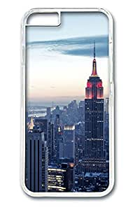 iphone 6 4.7inch Case and Cover Top of the City PC case Cover for iphone 6 4.7inch transparent