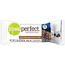 ZonePerfect Nutrition Snack Bars, Chocolate Chip Cookie Dough, 1.58 oz, (30 Count)