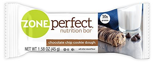 Chocolate Chip Cookie Vitamins (	ZonePerfect Nutrition Snack Bars, Chocolate Chip Cookie Dough, 1.58 oz, (30 Count))