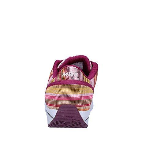 MBT - Zapatillas de tela para mujer Fuchsia