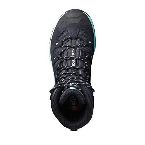 Craie Gtx Randonnée Femme Salomon De W Chaussures Hautes Blanc 4d menthe Quest gris 3 ZcqcnpP1