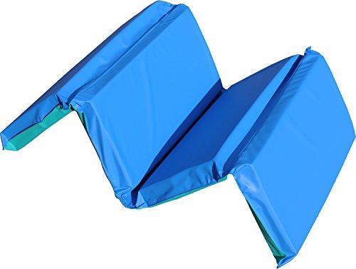 Kindermat Jr Daydreamer Nap Mat 2 Inch Blue And Teal