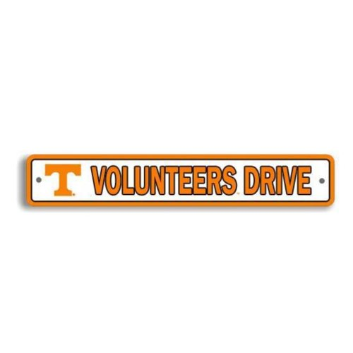 (Flagpole To Go NCAA Tennessee Volunteers Street Sign)