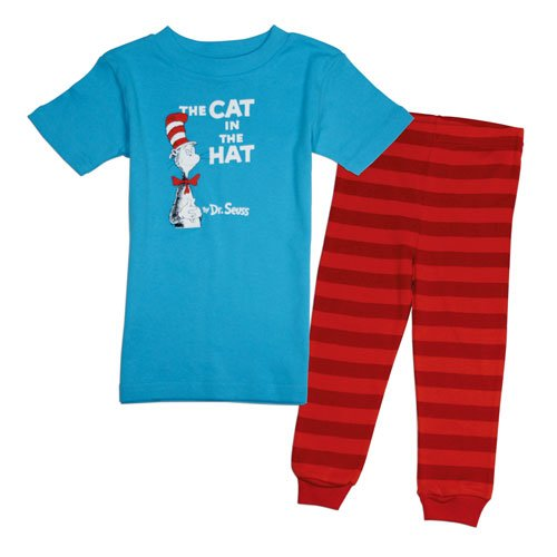 Bumkins Dr. Seuss 2 Piece Pajama Set