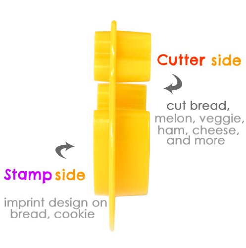 Amazon CuteZCute Animal Friends Food Deco Cutter And Stamp Kit Cookie Stamps Kitchen Dining