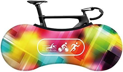 Wooden fish Funda Bici para Interiores Funda para Bicicleta Exterior Cubierta Interior De Bicicleta, La Mejor Solución para Mantener Su Interior Limpio para Bicicletas De Adultos: Amazon.es: Hogar