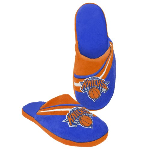 2013 NBA Basketball Team Big Logo Slide Slippers (New York Knicks, Medium 9-10) by NBA