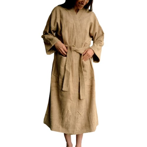 Organic Bamboo Terry Spa Bath Robe by SHOO-FOO | Kymono S...