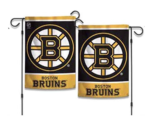 WinCraft NHL Boston Bruins Official 12x18 inch 2-Sided Single Logo Garden Flag