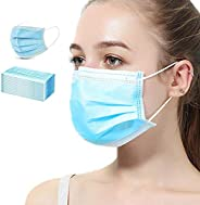 VCAN 50 Pcs Disposable Earloop Face Masks (Blue)