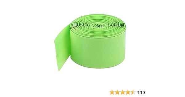 100x 18650 Battery Wrap PVC Heat Shrink Tubing Pre-cut Precut  ji