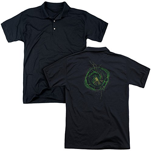 Alien - Xenomorph Shield Adult Polo Shirt