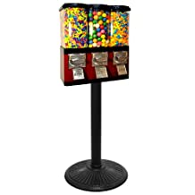 Triple Pod Candy Vending Machine by Gumball Machine Factory
