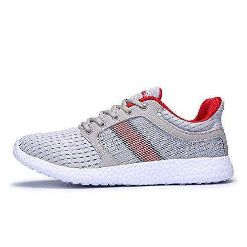 Hombres Respirable Zapatos deportivos Entrenadores Excursionismo Cómodo Ligero Zapatos para correr Red