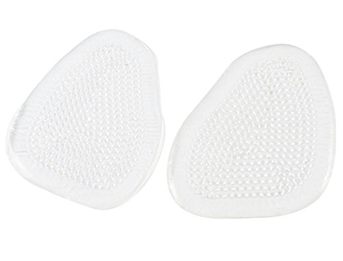 uxcell SODIAL(R) 1 Pair Silicone Gel Heel Cup Insoles Shoes Massage Massager Cushion Inserts Pads