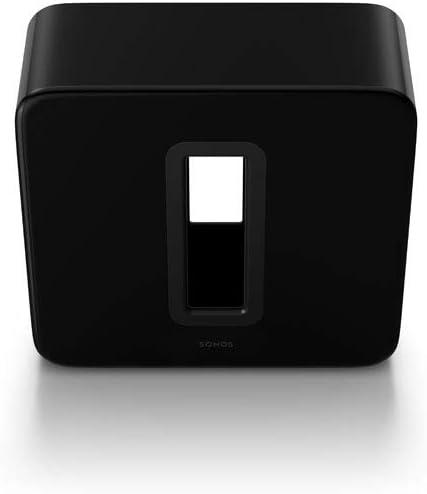 Sonos Sub Subwoofer Wireless per Bassi Profondi, Nero Lucido