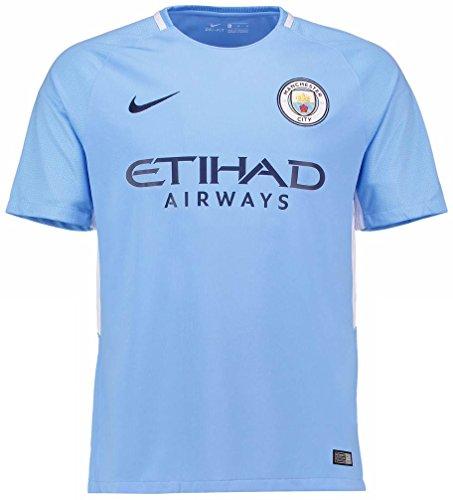 スペイン中央値悪性NIKE(ナイキ) マンチェスター?シティFC ホームユニフォーム 2017/18 Manchester City FC Home Shirt 2017/18 [並行輸入品]