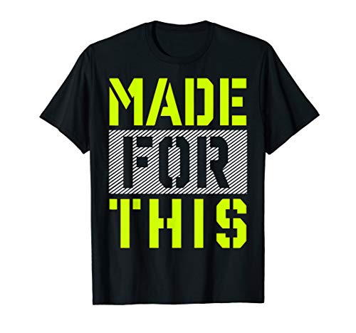 Made For This Athletic Neon Green Graphic T-Shirt -