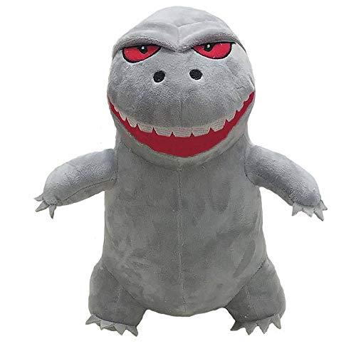 (MARUKQW Cartoon Godzilla Plush Toy 12 inch)