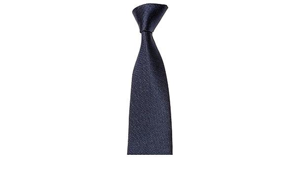 MAILANDO Corbata para hombre monocolor, estructura muy fina, Rojo ...