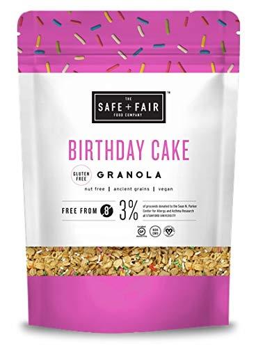 Birthday Cake Granola (Gluten-free; Nut Free; Ancient Grains; Vegan) 24 oz. by The Safe Fair Food Company
