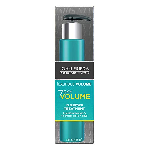 John Frieda Luxurious Volume 7-Day Volume In-Shower Treatment, 4 Ounce (Darken Hair)