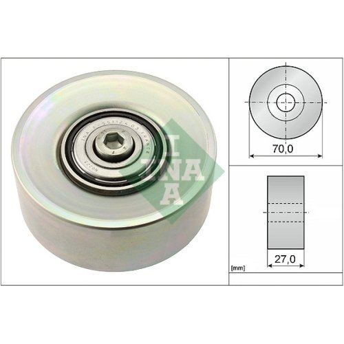LUK 532039810 Guide Pulley INA 532 0398 10