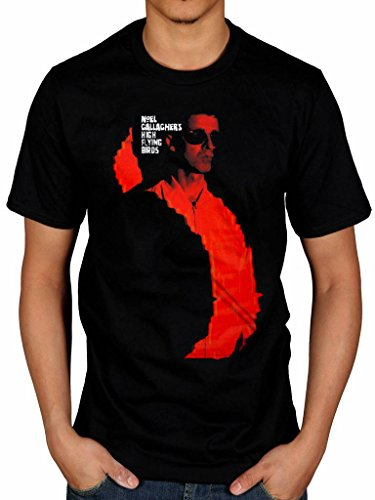 Official Noel Gallagher's High Flying Birds Sunglasses T-Shirt Chasing Yesterday Album