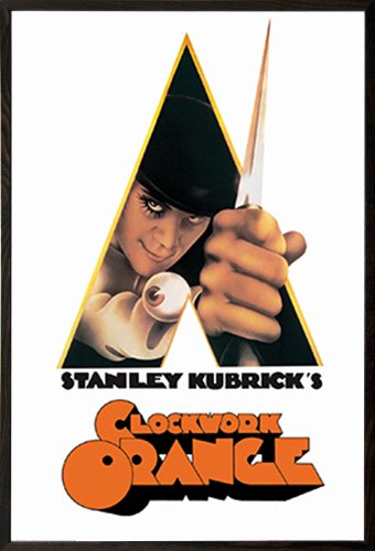 a clockwork orange knife poster
