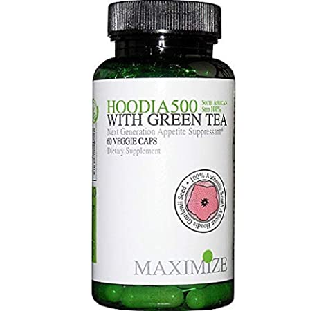 Amazon Com Maximize Hoodia 500 W Green Tea Vcaps 60 Ct Health