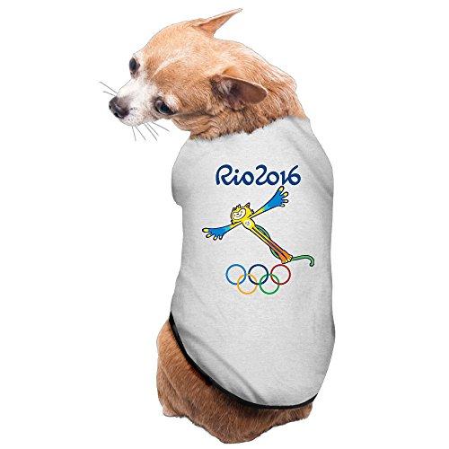 Del Rio Coat (Aip-Yep Slim Fit The 2016 Rio De Janeiro Dog Coats Gray Size L)