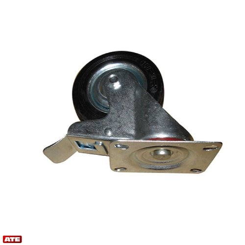 4'' Swivel Caster w/Double Bearing Brake